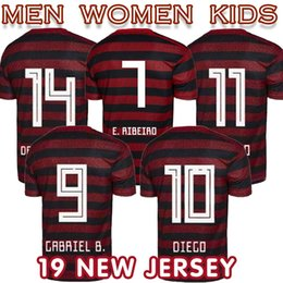4d081a252 Cheap Soccer Jerseys Australia - 2019 Thiland CR home women Flamengo soccer  jersey 19 20 football
