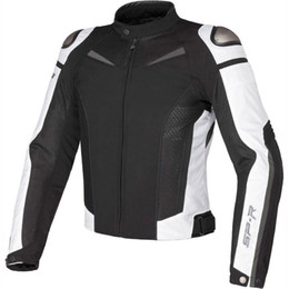Breathable Summer Motorcycle Jackets Australia - Summer Motorcycle Sport Riding Protective Jacket MotoGP Racing Dain Super Speed Textile Jacket With Protectors