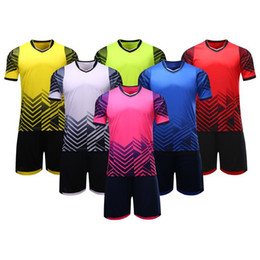 lit boards UK - High-quality manufacturer customized adult children's football uniform light board team uniform training sports suit football clothes