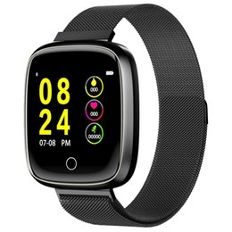 Smart Health Watch Heart Monitor Australia - Fitness Smart Watch Women Men Pedometer Heart Rate Monitor 1.0 Inch Large Display Health Touch Run Sports Watch For Android IOS