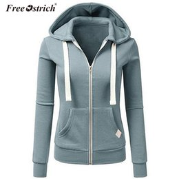 $enCountryForm.capitalKeyWord Australia - Free Ostrich Autumn Jacket Women Solid Zipper Pockets Hooded Cazadora Mujer Jaqueta-Feminina Chaquetas Mujer Women Overcoat N30