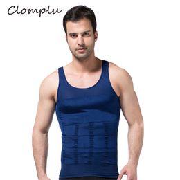 03c864fb2 Body Shaper Vest For Men Australia - Clomplu Summer Shaper Slimming Tops  Shapewear for Men Solid