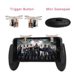 gamepad phone Australia - For PUBG STG FPS Game Trigger Cell Phone Mobile Controller Fire Button Gamepad L1R1 Aim Key Joystick for iphone Android