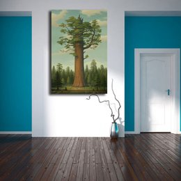 Painting Trees Watercolor Australia - Mark Ryden General Sherman Tree Of Life HD Posters Canvas Painting Oil Framed Wall Art Print Pictures For Living Room Home Decoracion
