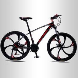Folding bike white online shopping - 21 velocidad pulgadas Bicicleta de montaña bicicletas doble disco frenos estudiante Bicicleta de carretera envío gratuito