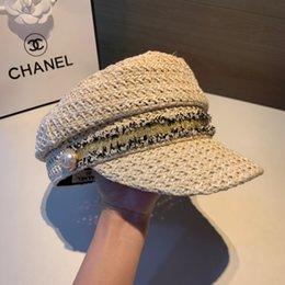 $enCountryForm.capitalKeyWord Australia - best quality New fashion rose baseball cap hat and hat ladies fresh casual flat cap