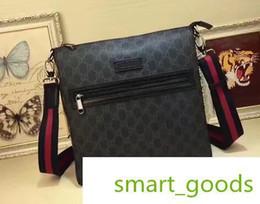 Cross body sChool bags leather online shopping - 2020 NewG Famous Brand Classic Designer Fashion Men Messenger Cross Body Bag School Bookbag Shoulder Bag