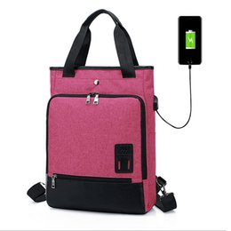 4a5562d22fa0 Acoki 15 inch Laptop Backpack USB Charging Anti Theft Backpack women Travel  Backpack Waterproof School Bag Male Mochila Purple