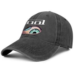 EyE hats online shopping - Men Women vintage Denim hat Washed Adjustable Tool Albums Eye custom ball hats summer Dad hat Outdoor