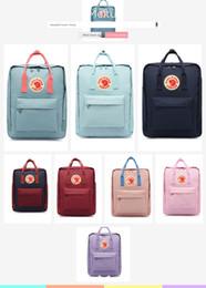 $enCountryForm.capitalKeyWord Australia - top Selling sweden Fjallraven couple backpack classic mini Kanken Fox bag rucksacks canvas students bags Schoolbag Girl boy 7L 16L 20L