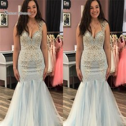 Pear Color Dress Australia - 2019 Sweetheart Floor Length Tulle Beads Prom Dresses High End Quality Evening Party Dress Hot Sales