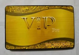 Großhandel Großhandel -new GSM Box Fashion 4,8mm ultradünne M5 spezielle Karten-Telefon-Aufkleber GSM-VIP-PRO-Karte nur Karte