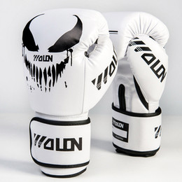 $enCountryForm.capitalKeyWord NZ - Green Boxing Gloves For Kids PU Free Combat Fighting Sports Wearable Breathable For Muay Thai Training Karate Taekwondo Red Blue