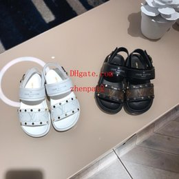 heeled sandals for girls 2019 - kids boys girls sandals for children high quality children shoes 26-34 guc-166 discount heeled sandals for girls