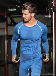 $enCountryForm.capitalKeyWord Australia - Freeball Men's Compression Tights Shirt Running Bicycle Fitness tees Long Sleeve Outdoor Quick-drying Traning T-shirt Men's Body S