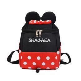 Cute Backpacks For Teenage Girls Australia - 2019 Cute Backpack Pu Leather Female Cartoon Women's Backpack Sweet Bow Teenage Girls Backpacks School For Kids