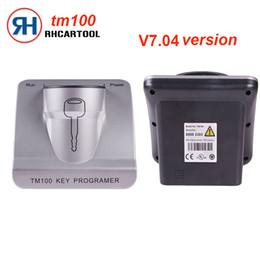 $enCountryForm.capitalKeyWord Australia - 2018 New Car styling V7.04 TM100 Transponder Key Programmer Full Version with 62 Modules V7.04 Free Shipping
