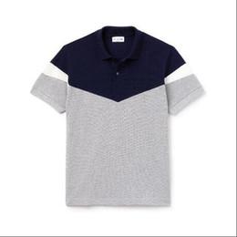 2019 Mens Designer Polo Shirts Summer Brand Crocodile Fashion Shirts Hot Sale High Quality with 4 Colors Size M-2XL на Распродаже