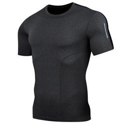$enCountryForm.capitalKeyWord UK - Hot fast drying shirt sports compression men running fitness t-shirt tight football soccer suit fitness sportswear