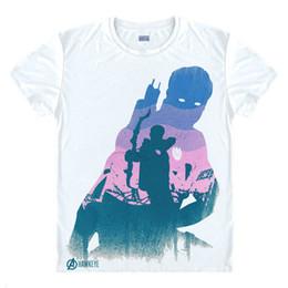58f02361b70 2019 men s designer clothing tshirt Avengers T Shirt Ironman Captain  America Iron men Hawkeye Black Widow Marvel T-shirt Super hero Custom