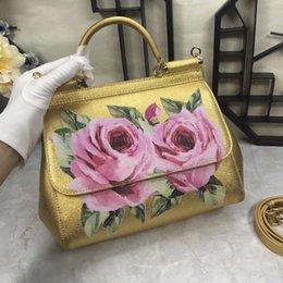 $enCountryForm.capitalKeyWord Australia - Fancy 2019 Genuine Leather Lux Handbags A11010 Women Bag Runway Design Female Ladies Europe Brand Free Shipping