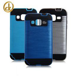 $enCountryForm.capitalKeyWord Australia - Brushed PC+TPU Phone Case For Samsung Galaxy J1 J100 J7 J700F A5 A500 A3 A300 A7 A700 Ace NXT G313H Ace 4 G357 Armor Kickstand Cover