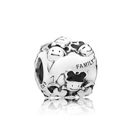 $enCountryForm.capitalKeyWord UK - NEW 100% 925 Sterling Silver 1:1 Original Happy Family Charm Beaded Jewelry Women's Holiday Wedding Charming Gift  7501057371563P