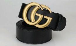 Great standards online shopping - 2019 Design Big Buckle Great Belt Men Women Fashion Designer Belts Luxury Cow Genuine Leather g Buckle belt