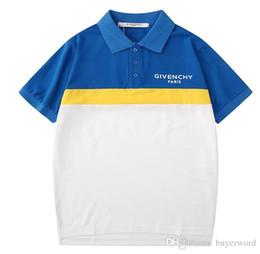 Giv Tee Australia - 19ss Summer luxurious Honey Men's Polos Shirts giv polo Tees short Sleeve Breathable Men Women Outdoor Streetwear T-shirts 963