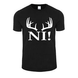 Hot T Shirts For Men Australia - Print T Shirt Hot Crew Neck Short-Sleeve Top Men Cotton T-Shirts Monty Python Tops T Shirt For Men