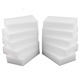 $enCountryForm.capitalKeyWord UK - Magic Sponge White Melamine Sponge Eraser For keyboard Car kitchen Bathroom Cleaning Melamine Clean High Desity