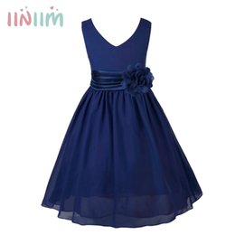 Iiniim Girls Teenage Birthday Party Dress Elegante Floral Princess Dress Ball Gown Tutu Dress Per Diserbo Bambini Abiti Abbigliamento Y19061501