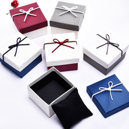Wholesale Boxes Packaging Australia - Gift Watch Bracelet Box Packaging Jewelry Durable Bangle Bowknot Storage Case NYZ Shop