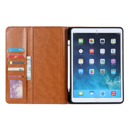 Leather Case Ipad Mini Brown NZ - For Ipad mini 1 2 3 4 5 7.9 inch Vintage Magnetic Smart Flip PU Leather Book Case Tablet Auto Sleep Wake