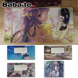 Fffas Cartoon Anime Blue Hair Girl Creative Breast Mouse Pad Hot Drop Shipping Health Office Mousepad Best Quality 3d Touch Mat Attractive And Durable Mouse Pads