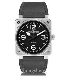 Type clocks online shopping - Men s Watch BR Watch Aviation Military Type Quartz Black Dial Men s luxury luminous watch sport watches clock Orologi di lusso