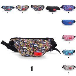 20SS Box Logo Designer Waist Bag Men Women Crossbody Waistpacks Sport Outdoor Packs Cycling Bag Totes Classic Hip Hop26 Styles on Sale