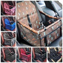 Dog Cars Australia - Pet Dog Carrier Car Seat Pad Safe Carry House Cat Puppy Bag Car Travel Accessories Waterproof Dog Seat Bag Basket Pet Products