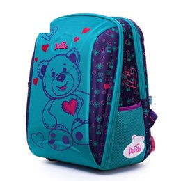 Delune Brand Kids Fashion 3d Cartoon School Bags 1-3 Grade Studets Children  Orthopedic School Backpacks For Girls Boys Schoolbag ea517e0a04d5a