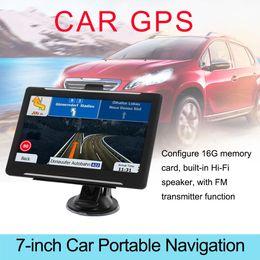 $enCountryForm.capitalKeyWord Australia - Car GPS Portable Navigator 256-8GB HD Capacitive Display GPS Satellite Navigation With Global Map 7-inch