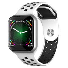 $enCountryForm.capitalKeyWord NZ - F8 Full Touch Color Screen Smart Wristband Waterproof Long Standby Heart Rate Blood Pressure Smart Watch Men For IOS Android