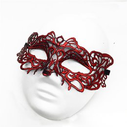 $enCountryForm.capitalKeyWord Australia - 2019 Mask lace Lovely Party Venetian Masquerade Decorations Half Face Lily Woman Lady Sexy Mardi Gras Masks For Christmas Gift Disco