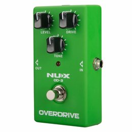 Overdrive Pedal Effect Australia - NUX OD-3 Overdrive Electric Guitar Effect Pedal True Bypass Natural Overdrive Sound Guitar Pedal Accessories Musical Instruments