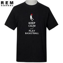 $enCountryForm.capitalKeyWord Australia - Wholesale- Fashion Sportswear Basketballs Printing Man T Shirt T Shirts Men Short Sleeve Cotton Mens Teetops Tee Shirt