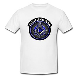 8ded3d75 Masonic Series Shriner Freemason Compass White T-Shirt - Available M L XL