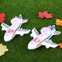 Pink helicoPter toy online shopping - LED Toys Model Airplane Luminescence Stay Wire Turn Around Airplanes Gift Children Glowing In The Dark Aircraft Toys Creative qja N1