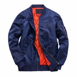 Wholesale autumn outwear resale online – Autumn Winter Jackets Kanji Solid Black Green Coats Designer Jackets Zipper Male Clothing Outwears Plus Size