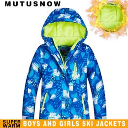 $enCountryForm.capitalKeyWord Australia - MUTUSNOW New Boys Ski Jacket Kids Winter Brands New High Quality Waterproof Breathable Thick Warm -30 Degrees Snowboarding And Snow Jacket