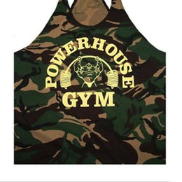 $enCountryForm.capitalKeyWord Australia - Wholesale- 2018 Hot Sale Fitness Vest Camo USA Bodybuilding Clothing Fitness Mens Tanks Top Gym Outdoors Cotton Undershirt