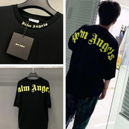 Wholesale tshirt fashions for sale – custom Palm Angels T Shirt Men Women ss OverSize Streetwear Summer Style T shirt Hip Hop Palm Angels Vetements Tshirt Top Tee